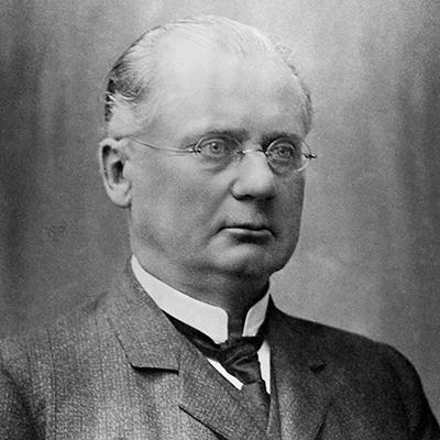 Porträtt av Gustaf de Laval
