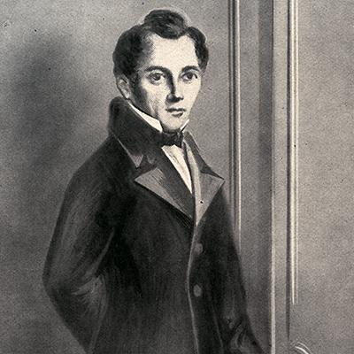 Porträtt av Gustaf Erik Pasch.