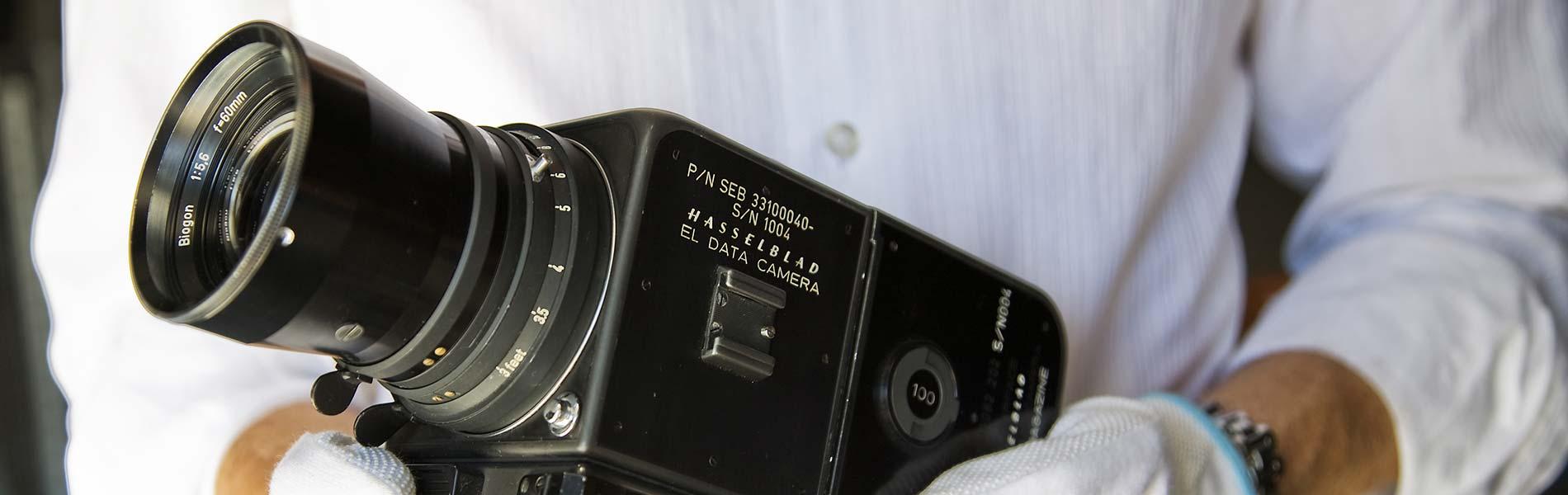 Hasselblads kamera som användes på månresor