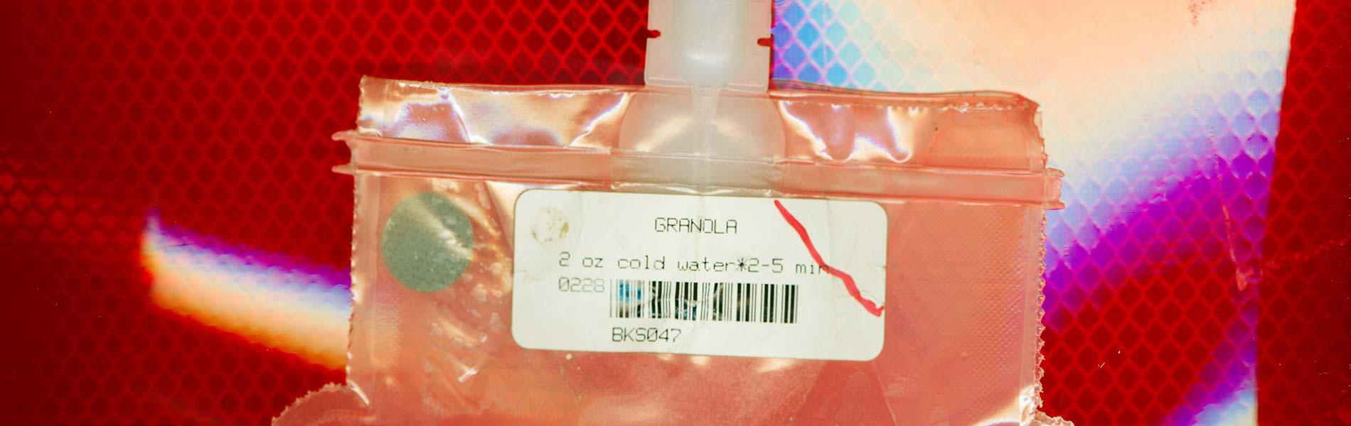 Vakumförpackning med granola