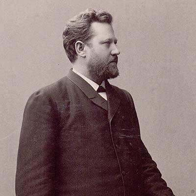 Porträtt på Lars Magnus Eriksson