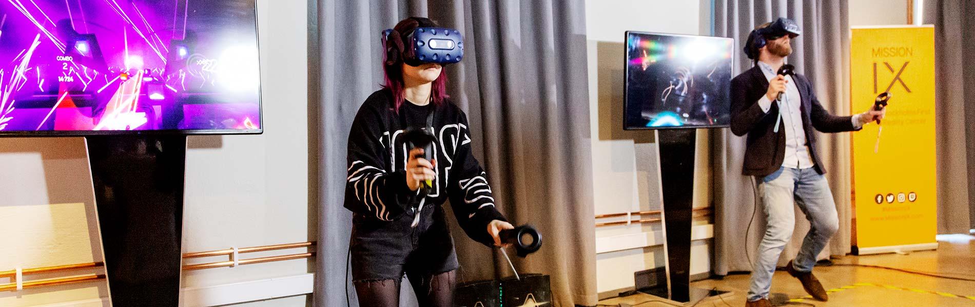 VR-äventyr tillsammans med kollegor