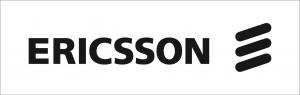 Ericsson med symbolen de tre sneda strecken