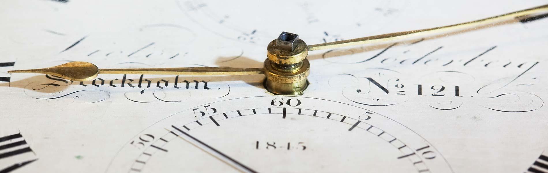 Bild på en skeppskronometer