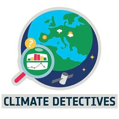 Klimatdetektivernas logotype