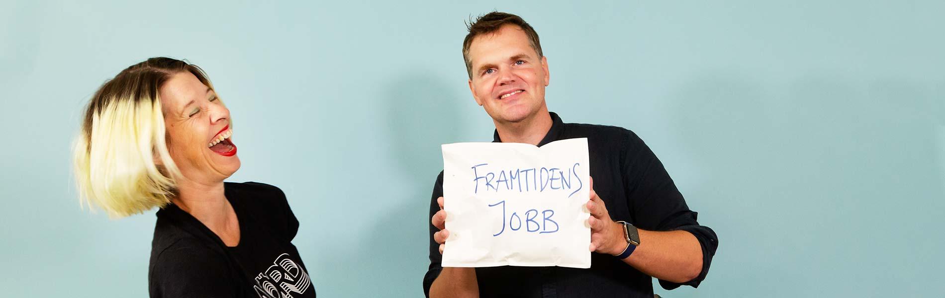 Linda Sandberg och Kjell Eriksson har hittat framtiden jobb
