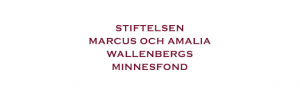 Logotyp för Stiftelsen Marcus och Amalia Wallenbergs Minnesfond