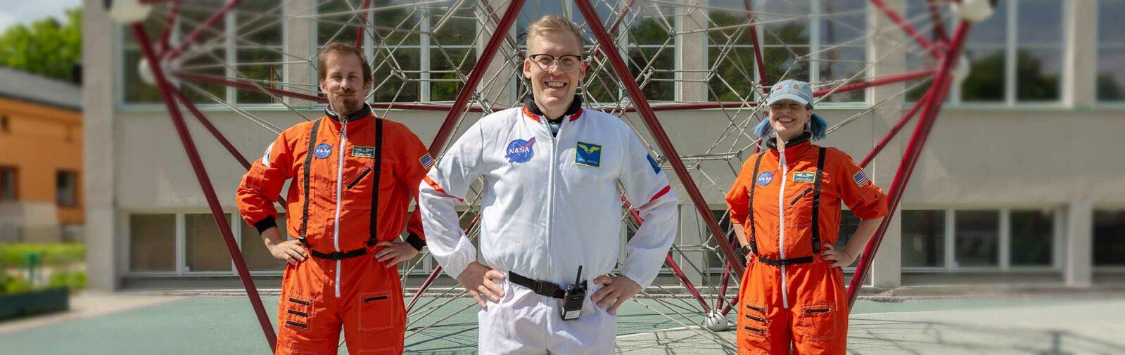 Space Training Now - Tekniskas egen astronaututbildning